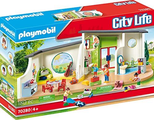 PLAYMOBIL City Life 70280 KiTa Regenbogen mit Licht- und Soundeffekt,...