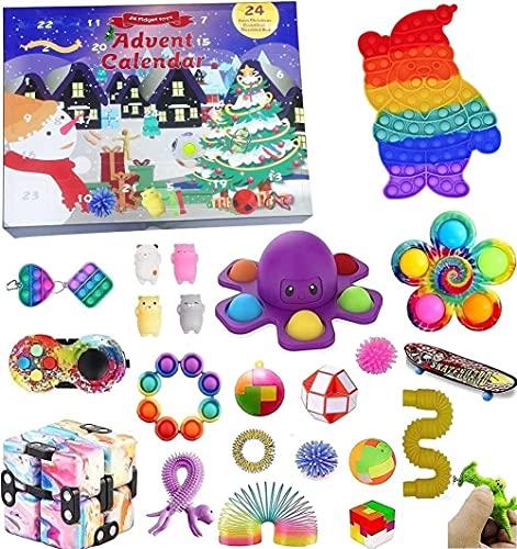shenruifa Fidget Toy Adventskalender 2021 Weihnachten Countdown...