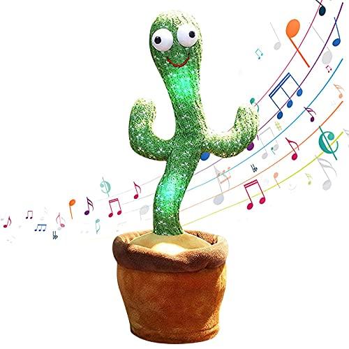 WUMOFIF Kaktus Plüschtier Tanzendes Kaktus-Spielzeug Mit 120...
