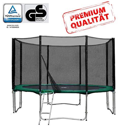 Baunsal GmbH & Co.KG Gartentrampolin Trampolin 366 bis 370 cm in grün...