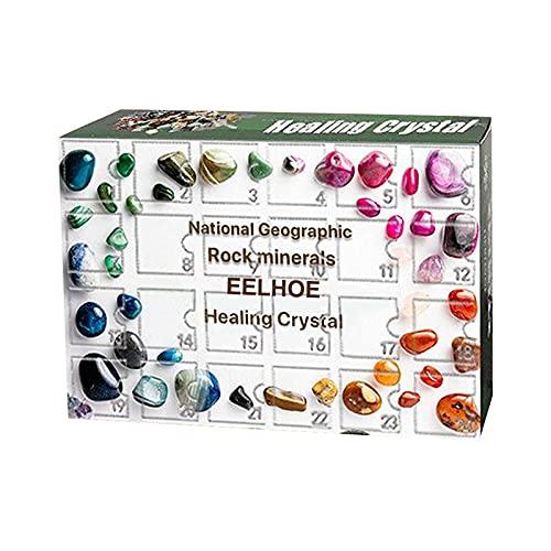 Erz Weihnachts-Adventskalender - Rock, Fossil & Mineral Kit,...