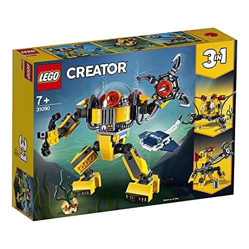 Lego 31090 Creator Unterwasser-Roboter, U-Boot oder Unterwasser-Kran,...