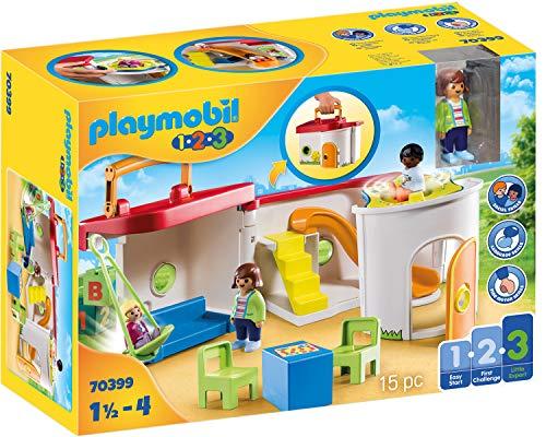 PLAYMOBIL 1.2.3 70399 Mein Mitnehm-Kindergarten, Ab 1,5 bis 4 Jahre