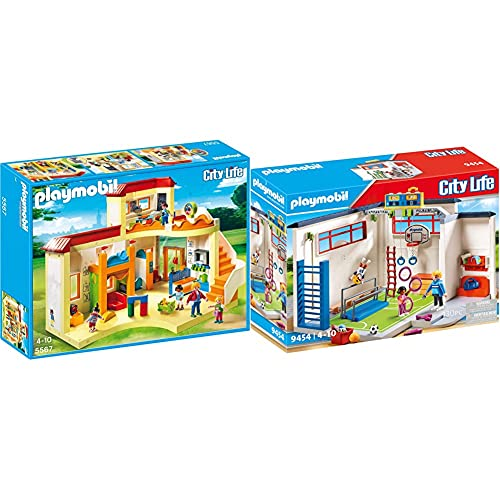 PLAYMOBIL City Life 5567 Kita Sonnenschein, Ab 4 Jahren [Exklusiv bei...