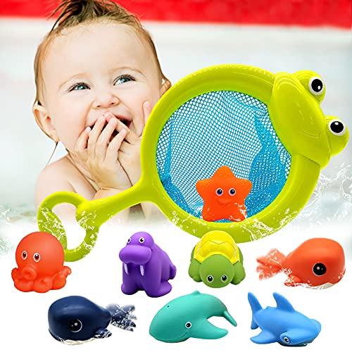 Euyecety Badewannenspielzeug Badespielzeug Wasserspielzeug ab 12...