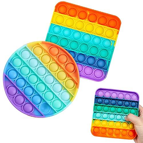 hirsrian Push-Pop-Blase, sensorisches Fidget-Spielzeug für Kinder,...