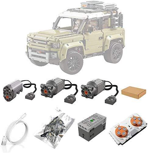 XIAN Motoren und Fernbedienung Set für LEGO 42110 Technic Land Rover...