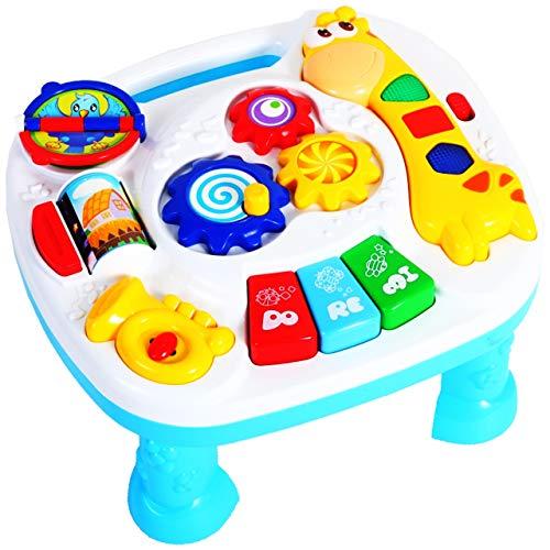 MalPlay Baby Spieltisch Musikspielzeug   Baby erstes Keyboard   Licht...
