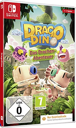 DRAGO DINO - Jump n Run Abenteuer - Nintendo Switch