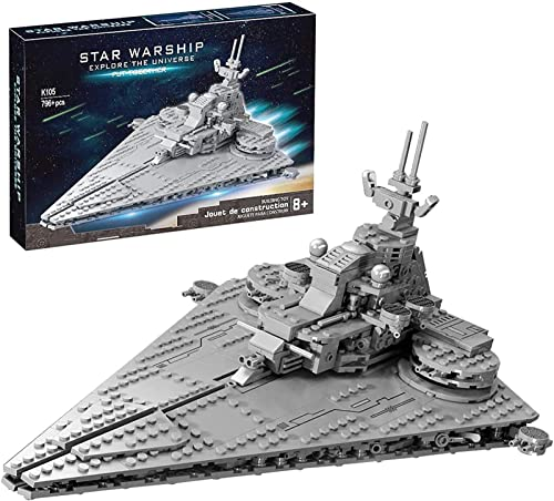 MOMAMOM Invasion Class Star Destroyer, 796Pcs Space Wars Assault-Level...