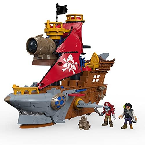 Mattel Fisher-Price Imaginext DHH61 - Pirates Haimaul-Piratenschiff,...