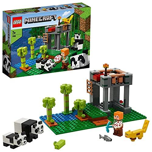 Lego 21158 Minecraft Der Panda-Kindergarten, Bauset mit Alex und...