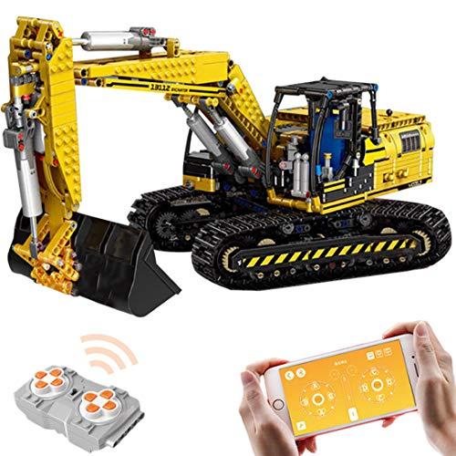 Cordi8553ll Technic Bausteine Bagger, 1830Teile 2.4G...