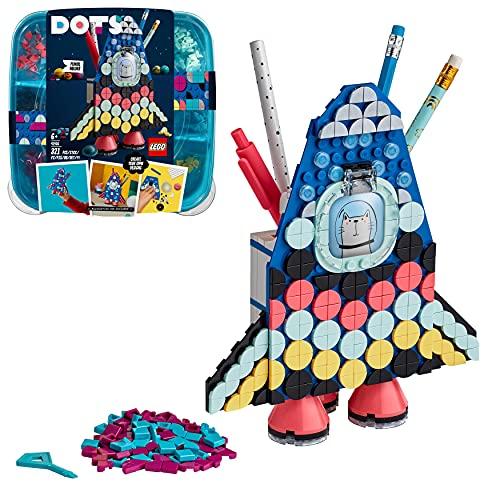 LEGO 41936 DOTS Raketen Stiftehalter Bastelset für Kinder,...