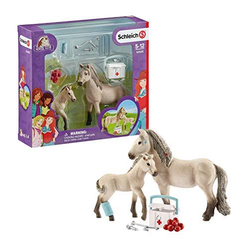 Schleich 42430 Horse Club Spielset - Horse Club Hannahs...