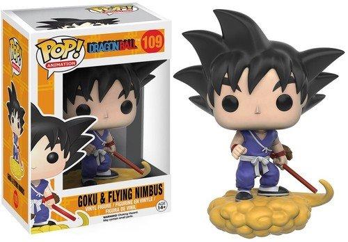 Funko 7427 Dragonball POP Vinylfigur: Dragon Ball Z: Goku und Wolke