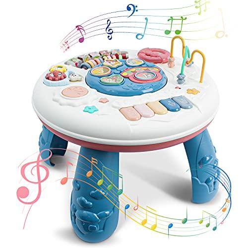 Leogreen Spieltisch für Kinder, Musical Babyspielzeug, Abenteuer...