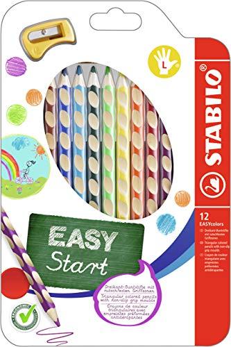Ergonomischer Buntstift für Linkshänder - STABILO EASYcolors - 12er... *