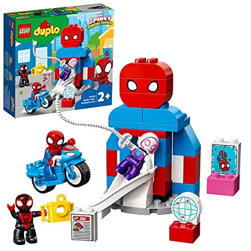 LEGO 10940 DUPLO Marvel Spider-Mans Hauptquartier, Kinderspielzeug ab...