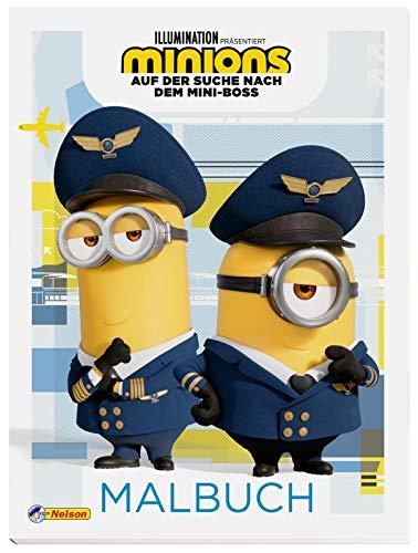 Minions - Auf der Suche nach dem Mini-Boss: Malbuch: Ausmalbilder mit...