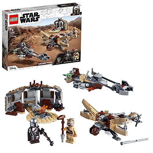 LEGO 75299 Star Wars: The Mandalorian Ärger auf Tatooine Bauset mit...