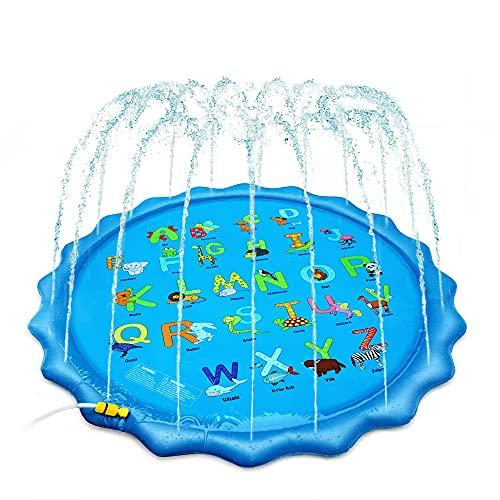 CHAIRLIN Wasser Spielmatte Sprinkler Matte Kinder Wasserspielzeug...