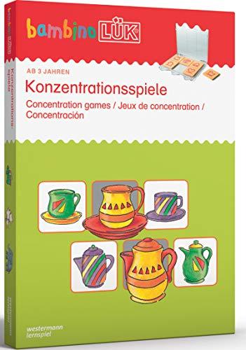 bambinoLÜK-Sets: bambinoLÜK-Set: 3/4/5 Jahre: Konzentrationsspiele: Kasten + Übungsheft/e / 3/4/5 Jahre:...