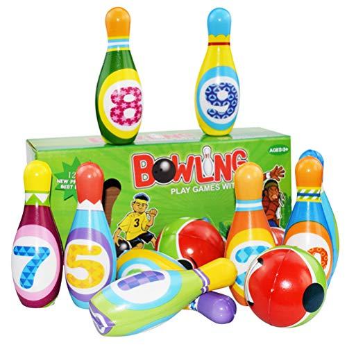 Schimer Kinder Bowling Set Kegelspiel Spiele Boule-Spiele Bowlingkugel...