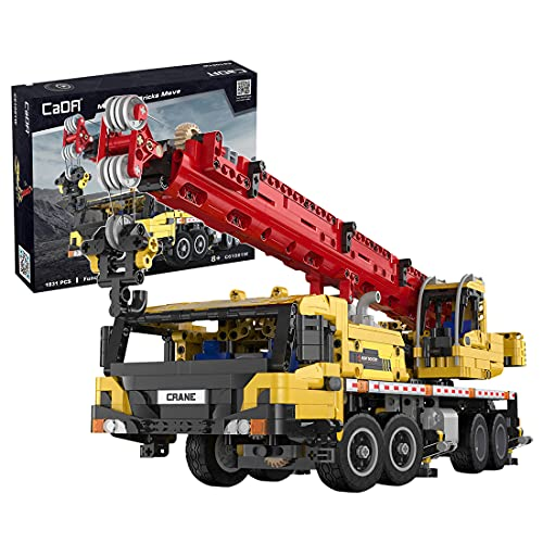 Achko CADA Technik Kran LKW Baufahrzeug, Mobile Crane Bausatz Mobiler...