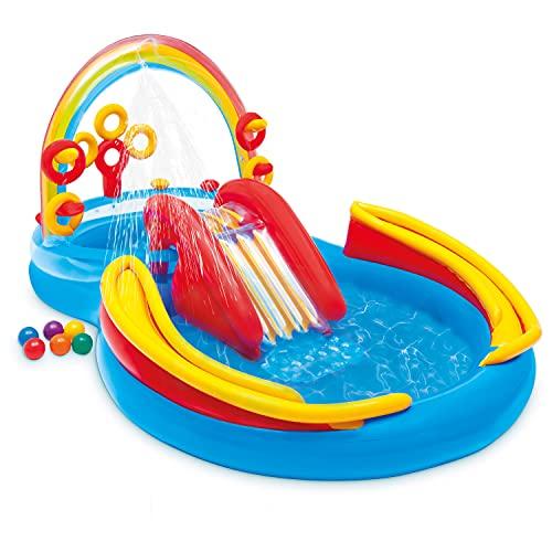 Intex Rainbow Ring Play Center - Kinder Aufstellpool - Planschbecken -...