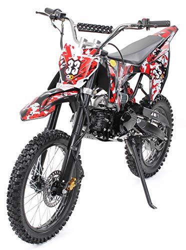 Kinder Jugend Crossbike Enduro Motocrossbike 125cc 4Takt Motocross... *