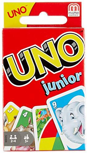 Mattel Games 52456 - UNO Junior Kartenspiel für...