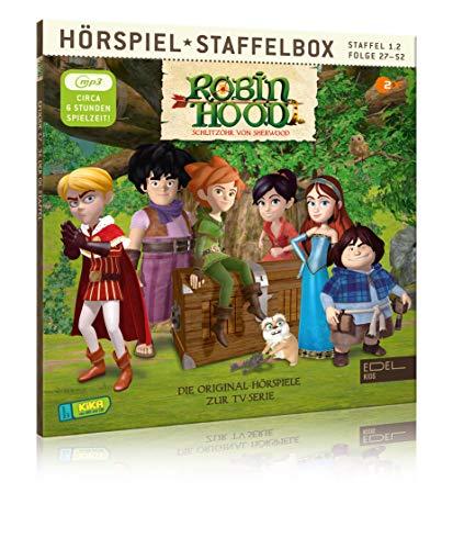 Robin Hood - Schlitzohr von Sherwood - Staffelbox 1.2 Folge 27 - 52...