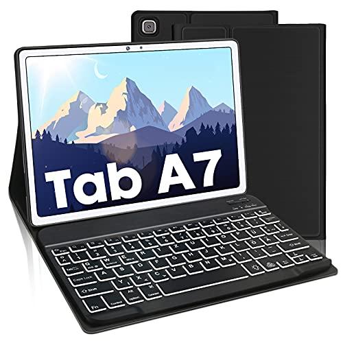 Beleuchtete Tastatur Hülle für Samsung Galaxy Tab A7 10,4' 2020,...