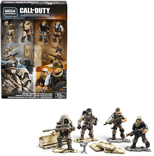 Mega Construx - Call of Duty GCP06 - Desert Snipers vs. Mercenaries