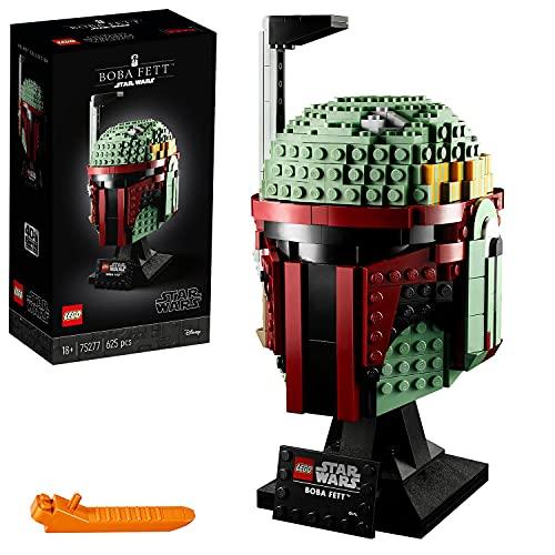 Lego 75277 Star Wars Boba Fett Helm, Schaustück, Bauset zum Sammeln...