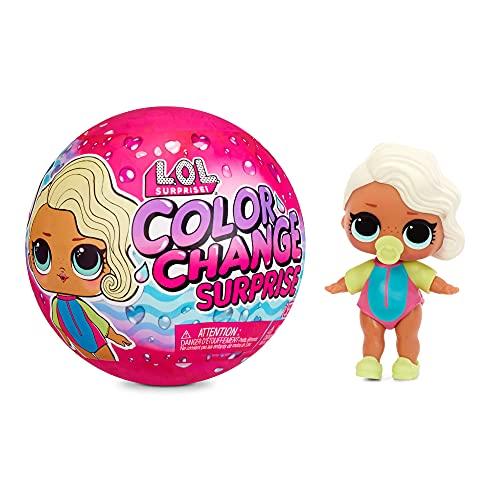 LOL Surprise Color Change Surprise Puppen - Sammlerpuppe - Entdecke 7...