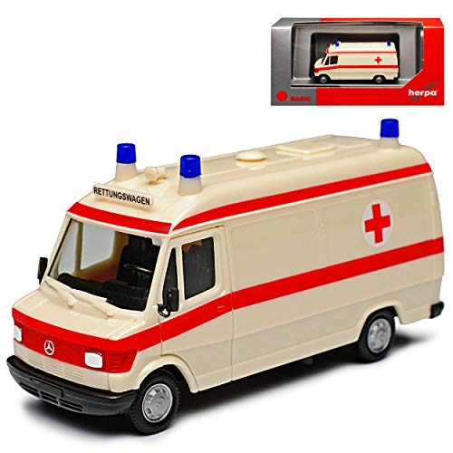 Mercedes-Benz T1 207D Transporter Krankenwagen Rettungswagen 1977-1995...