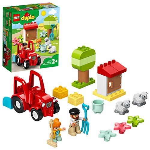 LEGO 10950 DUPLO Traktor und Tierpflege Kleinkinder Spielzeug ab 2...