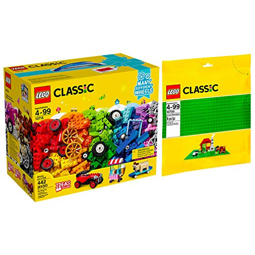 Lego Classic 2er Set 10715 10700 Kreativ-Bauset Fahrzeuge + Grüne...