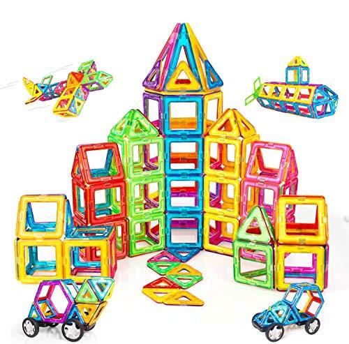 Condis Magnetische Bausteine 120 Teile Magnetspielzeug Magnete Kinder...
