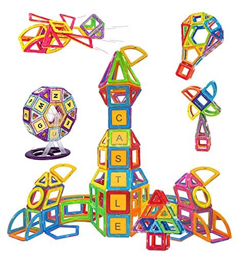 Condis Magnetische Bausteine 160 Teile Magnetspielzeug Magnete Kinder...