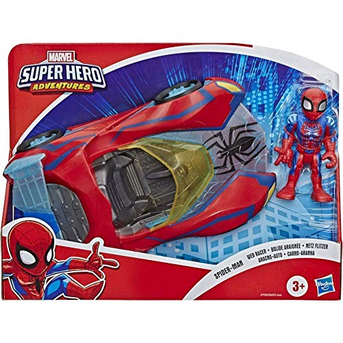 Playskool Heroes Marvel Super Hero Adventures Spider-Man Netz Flitzer,...
