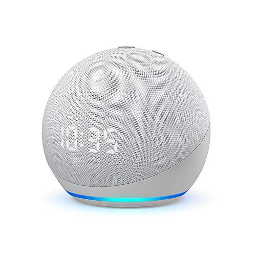 Echo Dot (4. Generation) | Smarter Lautsprecher mit Uhr und Alexa |...