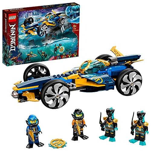 LEGO 71752 NINJAGO Ninja-Unterwasserspeeder, U-Boot Spielzeug ab 8...