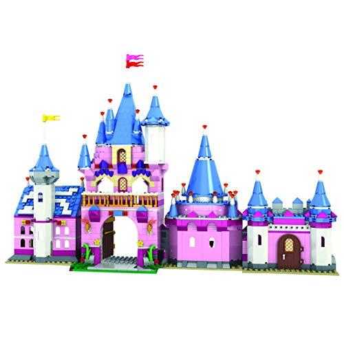 LAXI Bausteine Modell,Prinzessin Burg Bausatz Kompatibel mit Lego,...