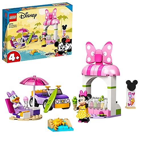 LEGO 10773 Mickey and Friends Minnies Eisdiele, Minnie Mouse Spielzeug...