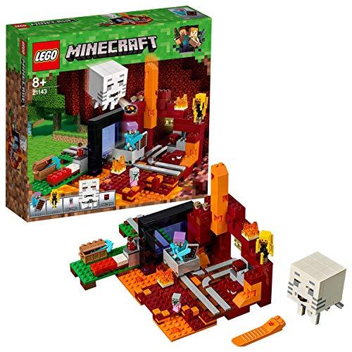 LEGO Minecraft 21143 - Netherportal, Kinderspielzeug