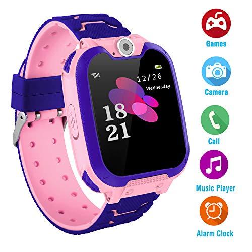 Kinder Musik Smart Watch für 3-12 Jahre alte Jungen...