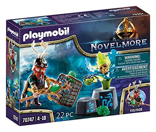 PLAYMOBIL Novelmore 70747 Violet Vale - Magier der Pflanzen, Ab 4...